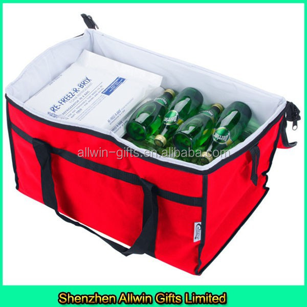 Foldable insulated beer cooler bag/beer bottle cooler bag/beer cooler bag