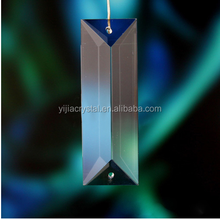 2015 hot sell High quality faceted crystal prism for chandelier/Glass Raindrop Chandelier Crystal Prisms