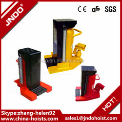 portable size compact structure manual 5 ton hydraulic claw jacks price