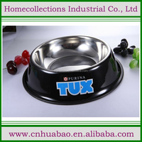 animal print stainless steel pet feeder, pet bowl