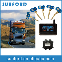 New external/internal sensors truck tpms systems tyre pressure monitor