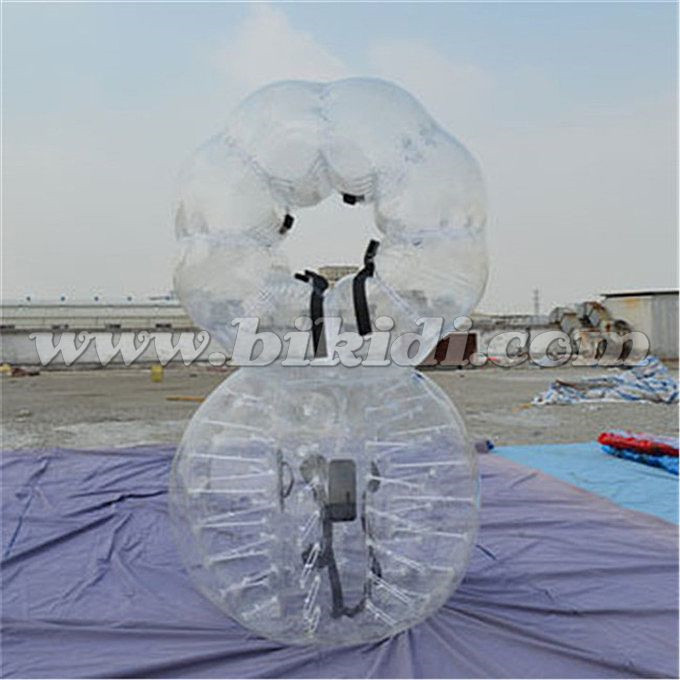 China cheap human body belly bubble suit sumo inflatable buddy bumper ball prices D5094