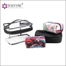 Stylish urban women stand fashion element Cosmetic Travel Bag Set