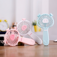 2018 Summer piggy shape aroma kids gifts rechargeable battery operated usb mini air cooler fan portable with strong wind