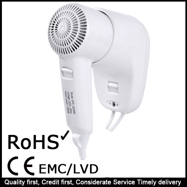 New Wholesale Bathroom Hotel Design Hair Dryer
