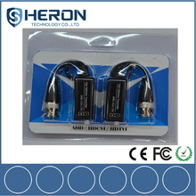 CE FCC ROHS HDCVI/TVI/AHD Srewless CCTV 1CH passive Video Balun for HD Camera and Analog camera