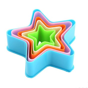 Factory supply simple design several size star shaped cookie cutter
