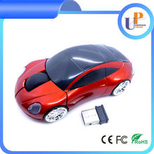 2014 hot sell promotion car shape wireless mouse 2.4g wireless optical mouse wholesale