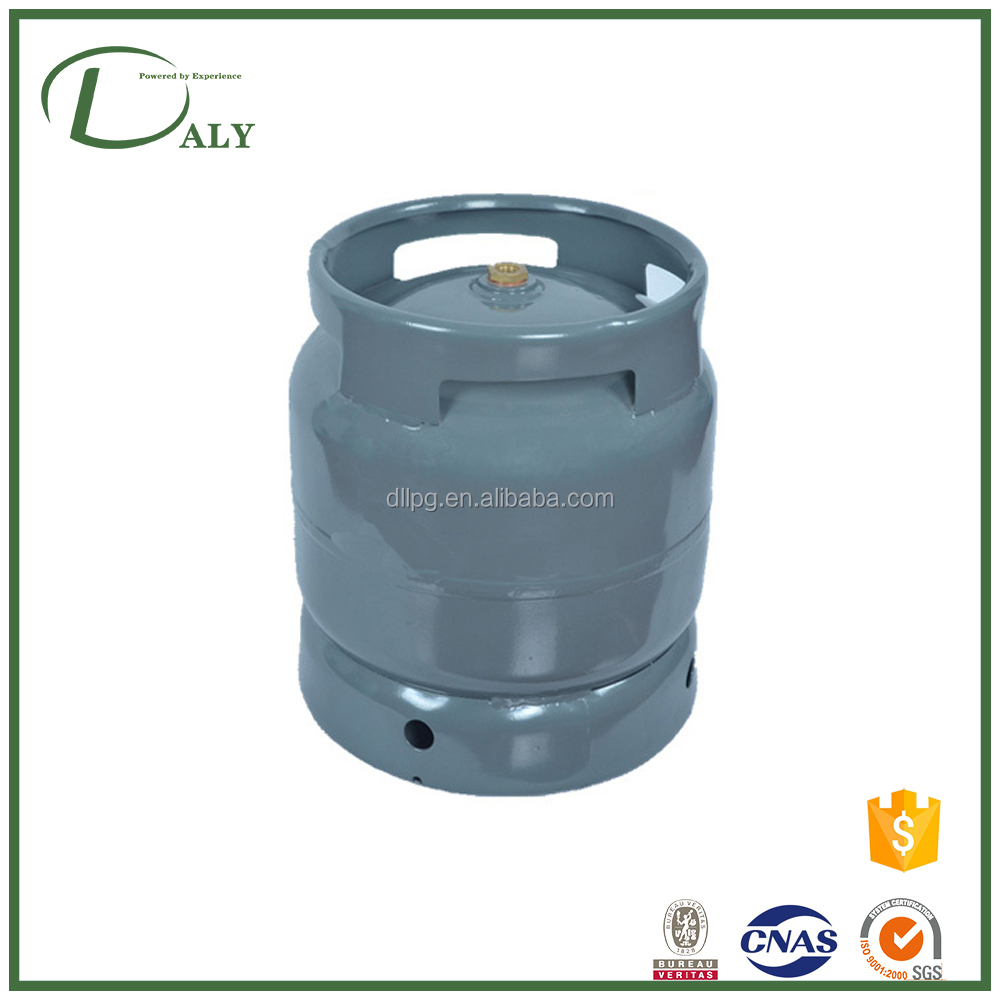 Different Types 6KG Lpg Gas Cylinder Manufacturer for Africa