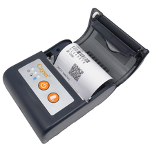 58mm portable mobile thermal receipt printer support android&ios with bluetooth