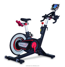 Professional Sprinting Commercial Magnetic Indoor Cycling Bike with Pad Holder/Console