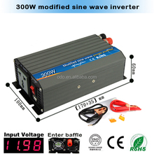 300watt modified sine wave solar power inverter/ inversor solar 12v 120v for solar panel