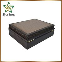 HSMA customized wood design wooden gift box dubai wooden sunglasses gift box boxes