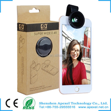 Universal Clip Camera Lens Cover for Mobile Phone Camera Lens for Galaxy note 3 Phone Lens for Smartphone