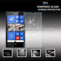 Cheap Price 9H Tempered Glass anti crack screen protector for Nokia lumia 520 (Glass Shield)