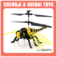 Plastic radio control toy 4.5 channel aircraft dragonfly rc airplane