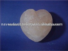 High Quality Handmade Natural Crystal White Heart Salt Soap