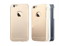 Cellphone accesories aluminum anodized thin shockproof cover for iphone 6