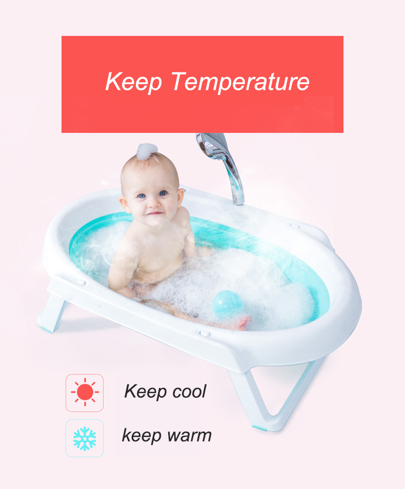 Cheap plastic foldable kids plastic bathtub