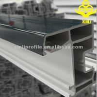 Green environmental protection upvc windows price/window Manufacturer in china/tripe pane seal frames/plastic track