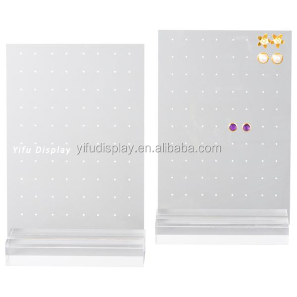 Wholesale Clear Acrylic Earring Display Stand, Earring Holder Manufacturer