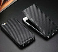 best quality carbon cover for iphone 5,professional business leather flip case for iphone 5 5s