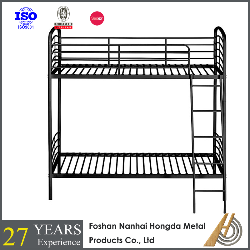 Folding sofa bunk bed Twin over Twin Convertible Metal Bunks