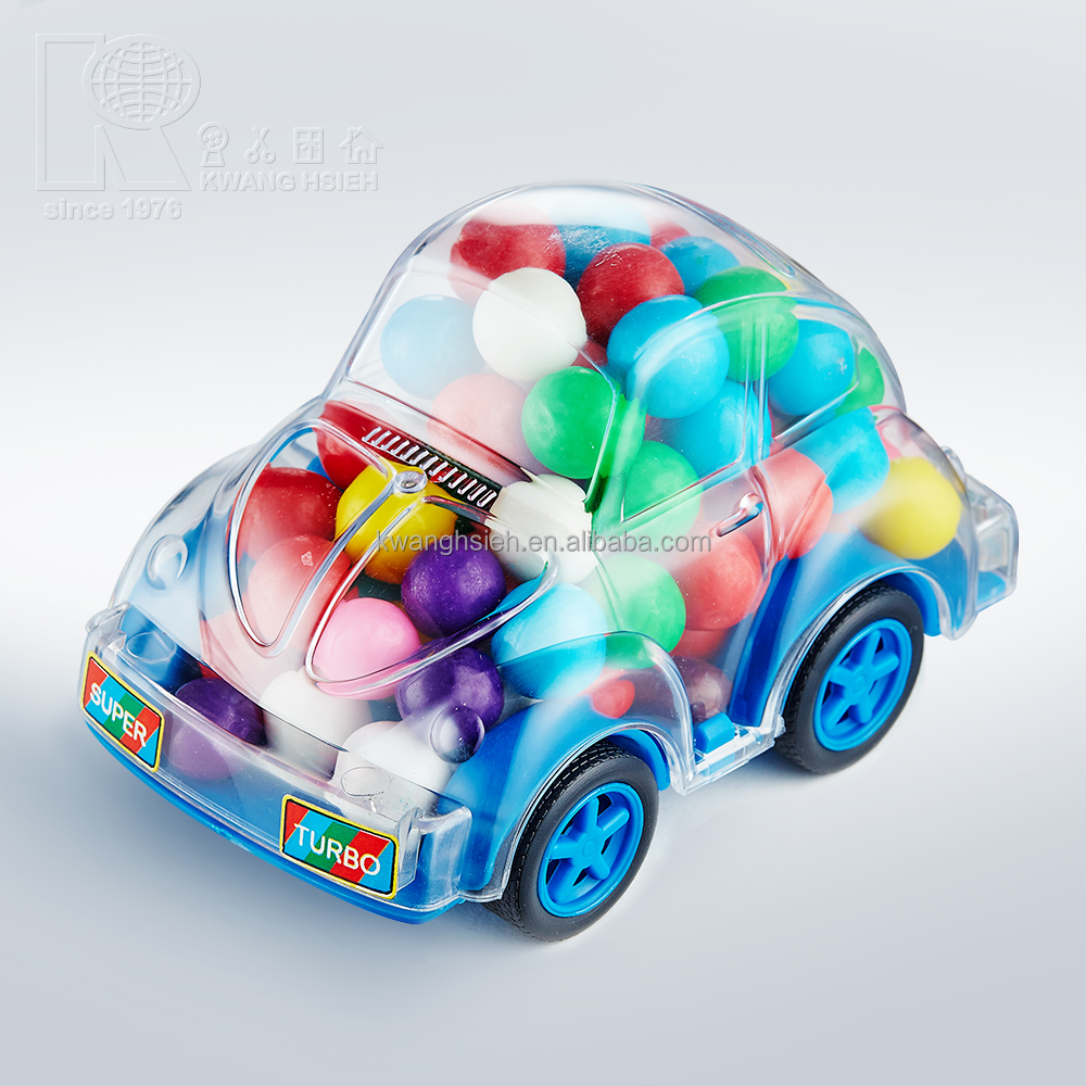 Kwang Hsieh Small Car Shaped Plastic Candy Toy Container