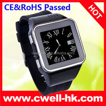 CONO S2 Capacitive Touch Screen Watch Mobile Phone with Smartphone Synchronization Function. CE & RoHS Passed