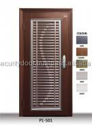 P1501 Stainless Steel Grille Security Door