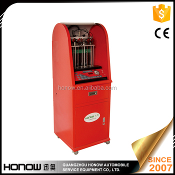 HO-6T fuel injector ultrasonic cleaning machine,with on-vehicle cleaning funtion