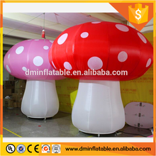 PVC inflatable advertising mushrooms advertising object