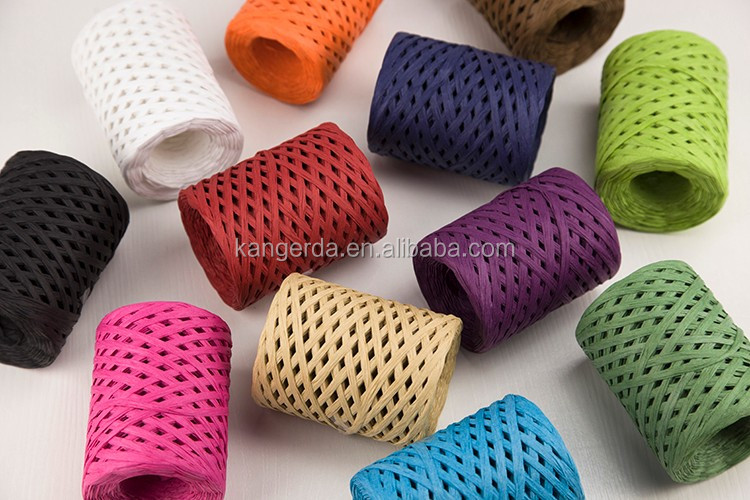 Craft Paper Raffia Ribbon Roll