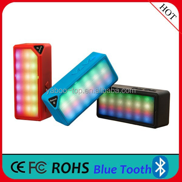 (Hot Hot) Portable With LED Handsfree Mini Bluetooth Speaker
