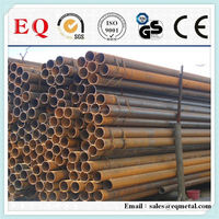 Black iron pipe butt welded fittings galvanized carbon steel pipe