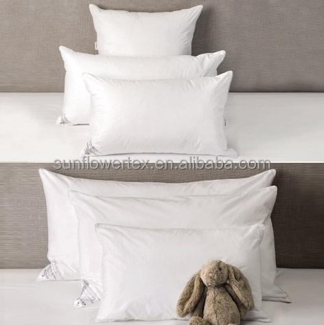 Soft Down and Feather Half and Half Pillow for hotel