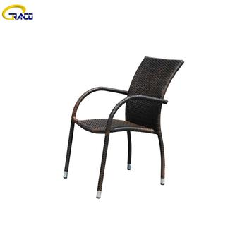 Good quality outdoor synthetic plastic wicker chair