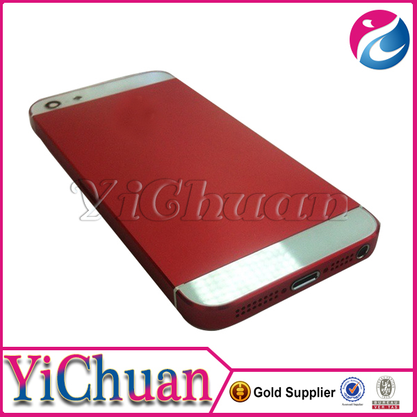 Hot selling for iphone 5 red back cover housing replacement
