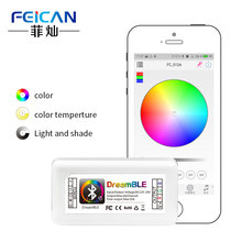 V4.0 wireless led strip light RGB controller iOS iPhone iPad Android Smartphone Bluetooth RGB LED Controller for bike lights