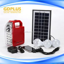 Hot sale off-grid small home solar system cheap price mini solar tracking system and Solar System Dubai With Radio