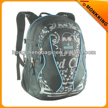 fashion jacquard teenager school bags backpack