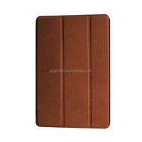 Quality Karst Texture Leather for iPAD MINI 4 MINI4 Leather Case foldable smart case Business Protective case PC+ PU