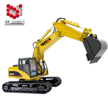 1:14 15Channel Remote Control RC Excavator Die-cast RC Truck