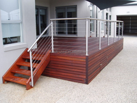exterior handrail lowes stainless steel 316 cable wire deck terrace railing designs