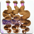 Wholesale 6A Grade Highlight Blond Body Wave Remy Russian Hair Extension