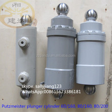 Putzmeister concrete pump wear parts plunger cylinder Q60/160 262840008 for small mouth