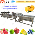 Factory Supply Professional Apple Washing Machine with Apple Drying Machine