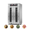 industrial fruits tray dryer hot air circulation drying oven food dehydrator machine