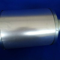 Hydroponics Ventilation 12inch Silencer Muffler For