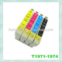 New launched compatible ink inkjet cartridget T1971/ T1962-1964 for use in XP-401